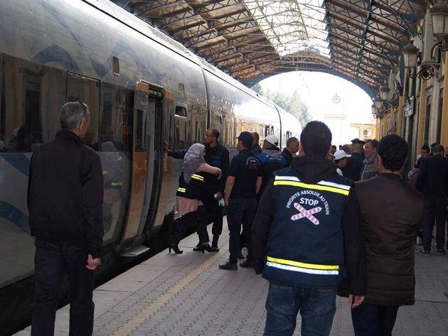 Mise en service du train entre Alger et