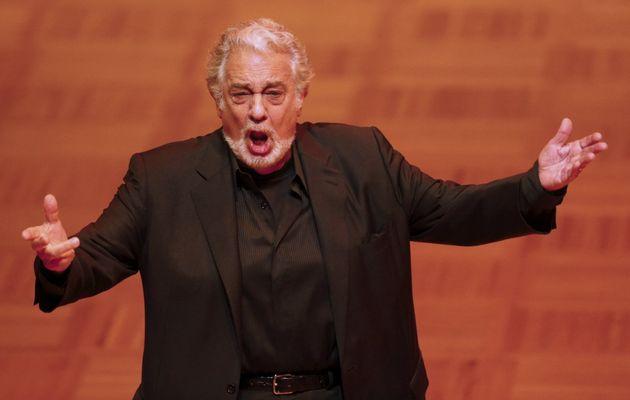 Plácido Domingo, actuando en en Viena en febrero de