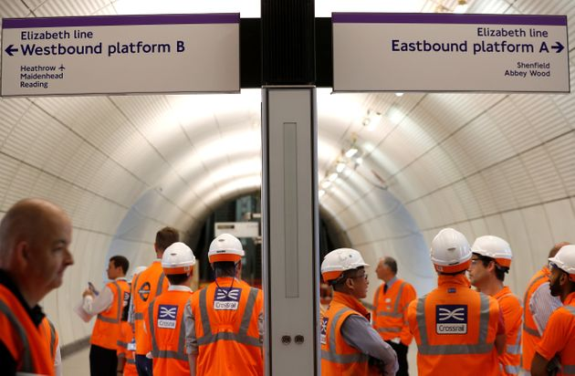 Crossrail Wont Open Until 2021 And Could Cost £650m More Than Planned
