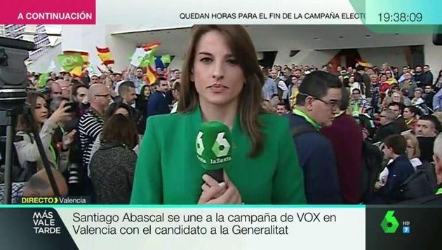 Ángela Vera, periodista de