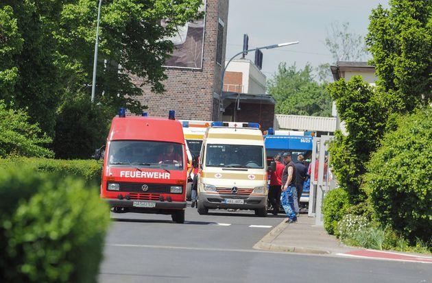 Γερμανία: Διάσωση 35 παγιδευμένων εργατών μετά από έκρηξη σε