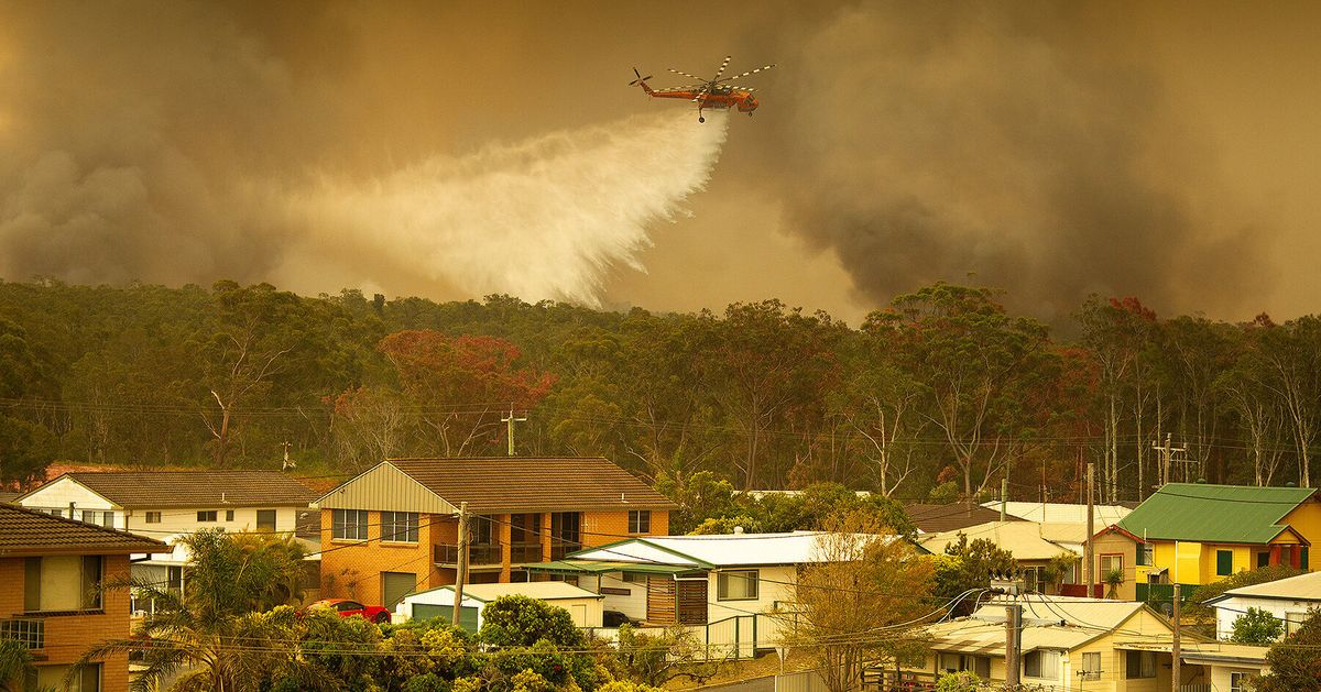 NSW In 'Uncharted Territory' As Bushfires Intensify, Residents Told To Leave