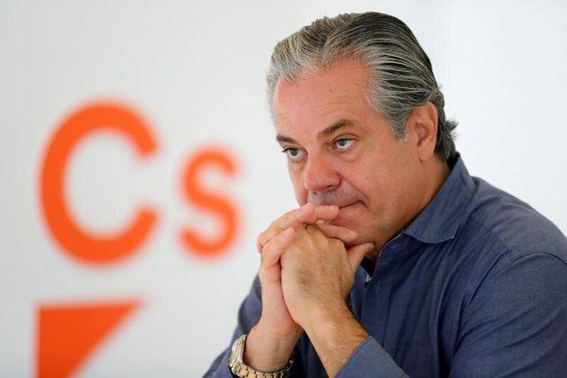 El portavoz económico de Ciudadanos en el Congreso, Marcos de Quinto, en una entrevista con EFE. EFE/Chema