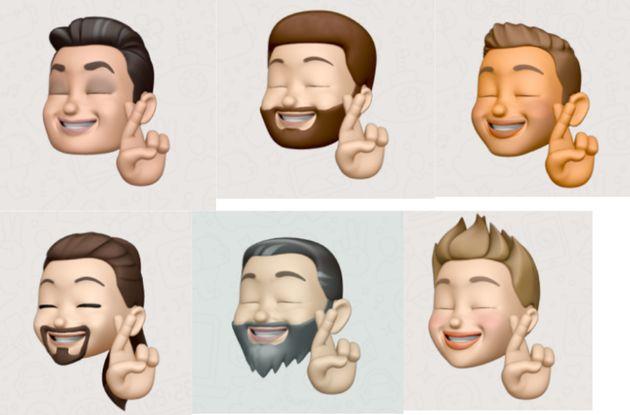 Combo con los 'emojis' de los
