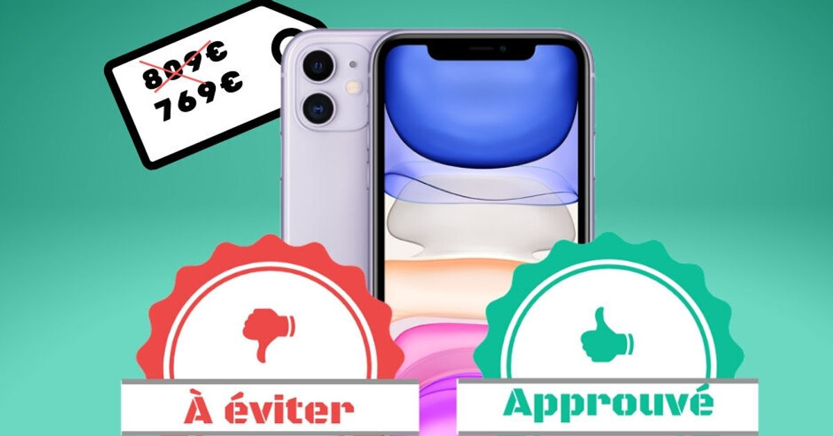 Avant le Black Friday, l'iPhone 11 en promo à 769 euros sur