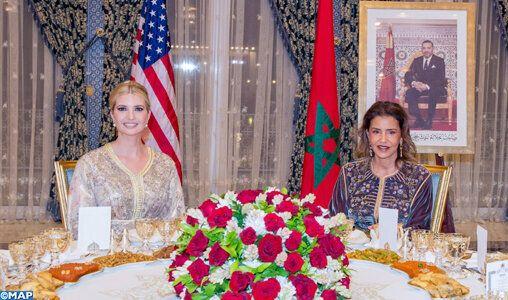 La princesse Lalla Meryem a présidé, hier, un dîner offert par le roi Mohammed VI,...