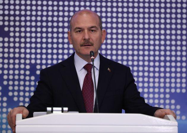 Süleyman Soylu, le ministre turc de l'Intérieur, novembre