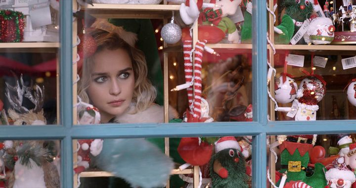 "Emilia Clarke in ""Last Christmas."""