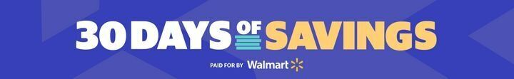 Walmart 30 Days Of Savings