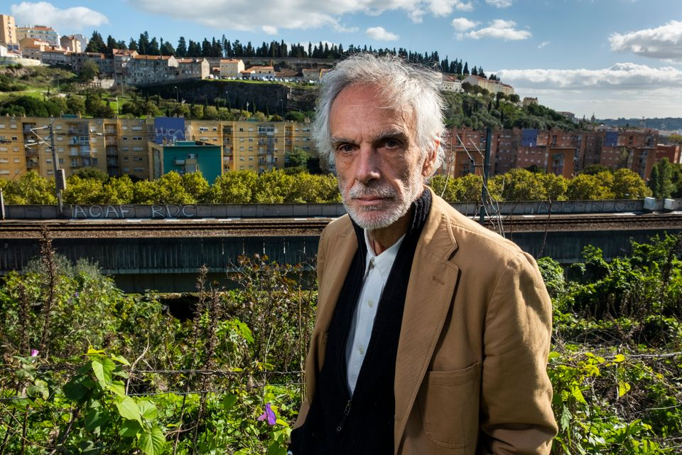 Psychiatrist Nuno Félix da Costa, posing in front of Quinta do Cabrinha, once known as the Casal...