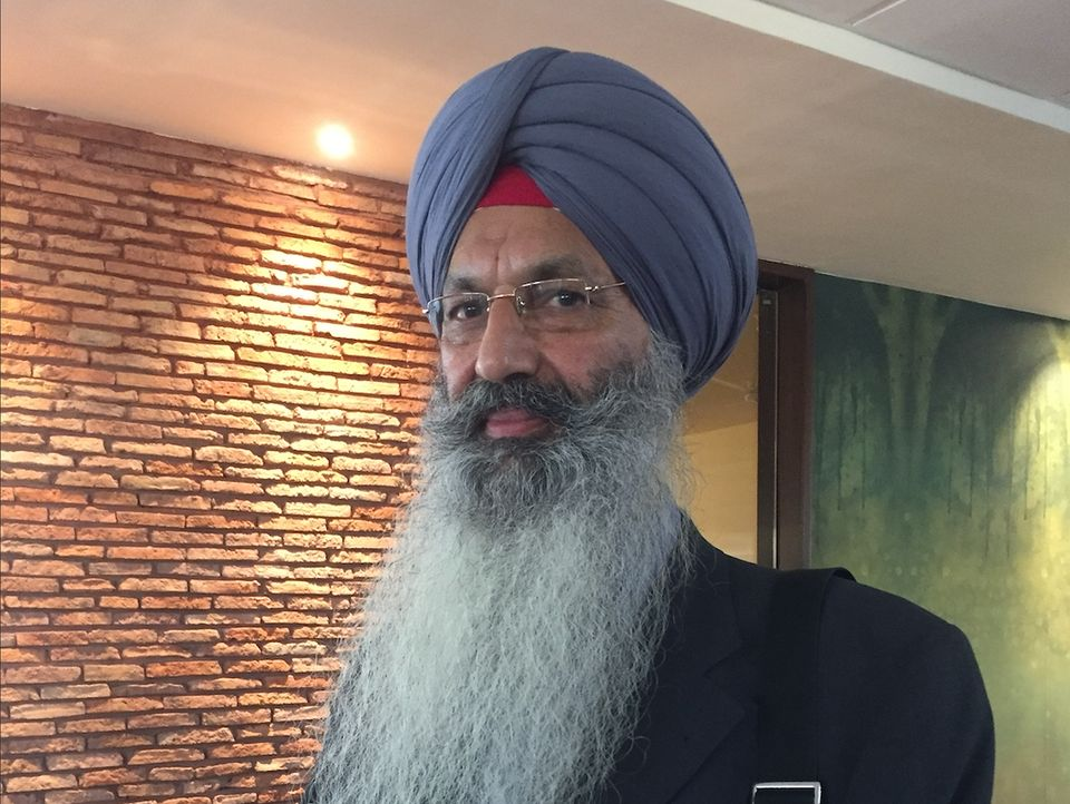 Hardevender Singh is part of the official Indian 'jatha' for the opening of the Kartarpur