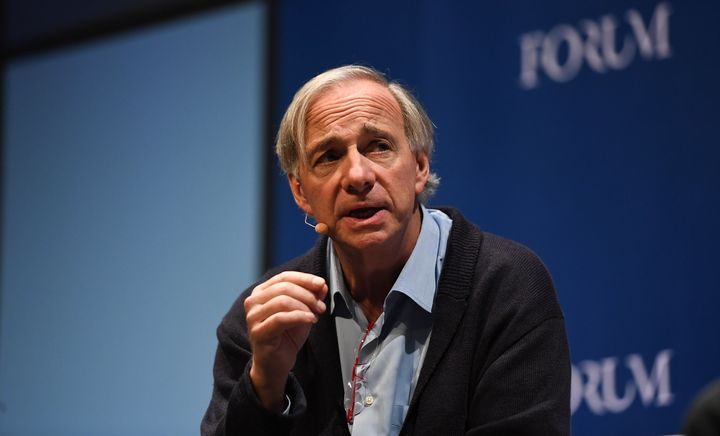 Ray Dalio, founder of Bridgewater Associates, at Web Summit 2018 in Lisbon, Portugal, Nov. 7, 2018.