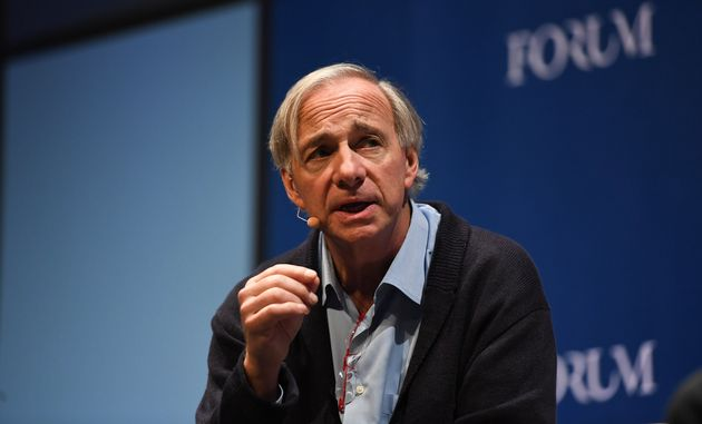 Ray Dalio, founder of Bridgewater Associates, at Web Summit 2018 in Lisbon, Portugal, Nov. 7,