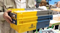 Correos recibe poco más de 900.000 votos para las elecciones (un 26% menos que el