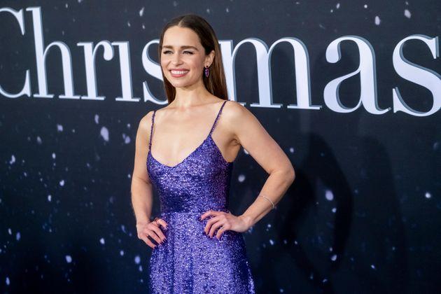 Emilia Clarke at the Last Christmas