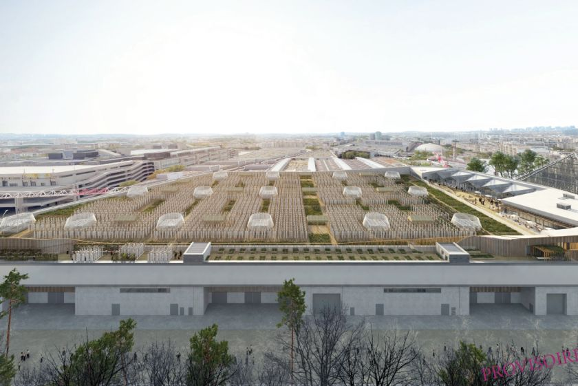 A new 150,000-square-foot urban farm in Parishas been billed as the largest rooftop farm in the world and is set to ope
