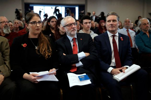 Job-Share Plan For Labour 'Co-Leaders' To Succeed Corbyn If He Loses General Election