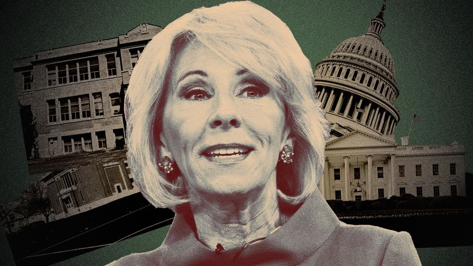 Whether people hate or love what she's doing, they agree that Education Secretary Betsy DeVos is doing it because she t