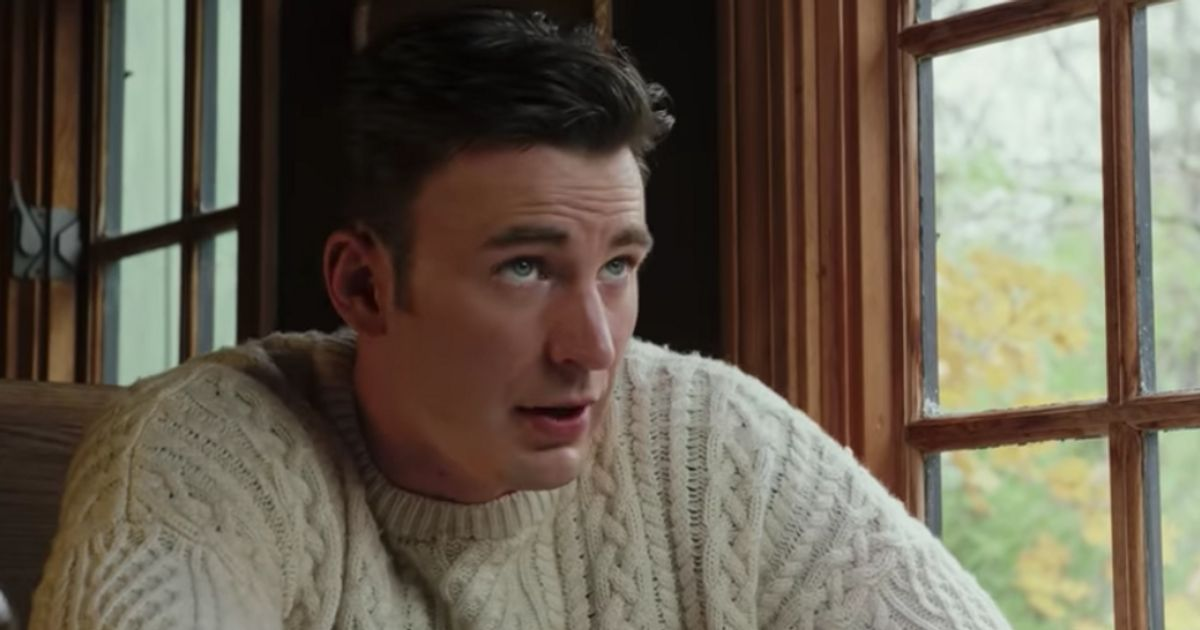 Chris Evans In A Sweater Is Getting People Hot And Bothered Over Knitwear