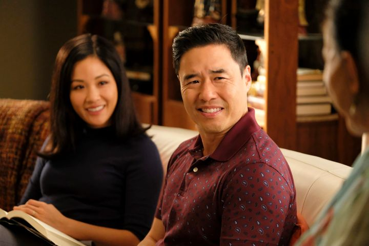 Constance Wu and Randall Park in