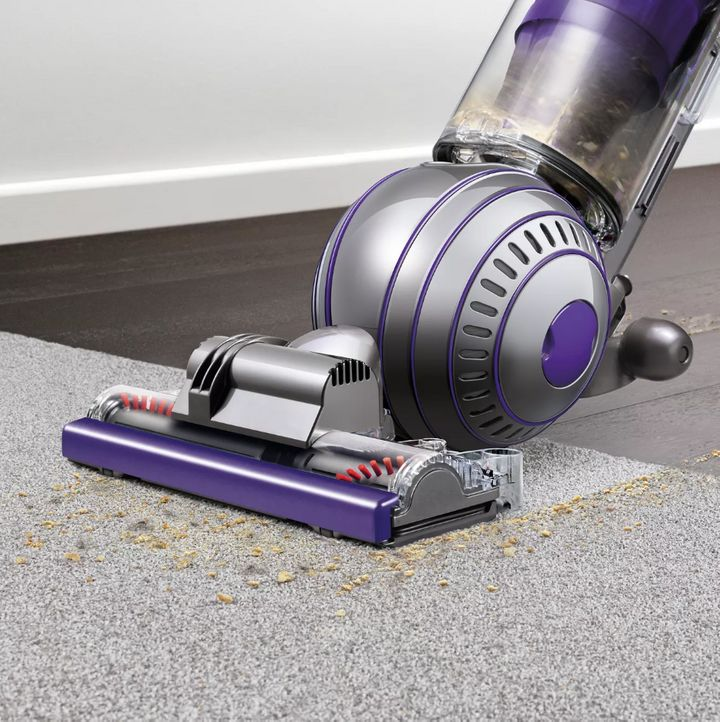 "As lovable as our furry babies can be, they can leave so much pesky pet hair everywhere. But Dyson could come to the rescue with this vacuum, which has a&nbsp;cleaner head that automatically adjusts from carpets to hardwood floors. <a href=""https://fave.co/2K62HOy"" target=""_blank"" rel=""noopener noreferrer""><strong>Originally $500, get it for $300 at Target</strong></a>."