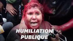 Une maire bolivienne du parti de Morales humiliée en place publique après une