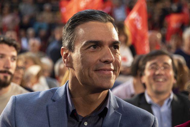 Pedro Sánchez, de cerca, en