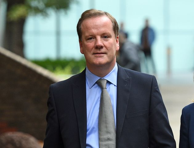 Conservative MP for Dover Charlie Elphicke, with his wife Natalie Ross, leaving Southwark Crown Court...