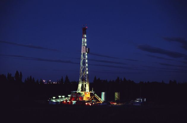 File photo of an oil well in