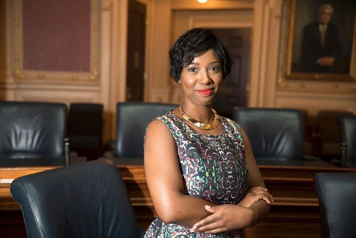 If elected, Virginia Del. Lashrecse Aird (D) would be the state's first female speaker of the House and the first Black perso