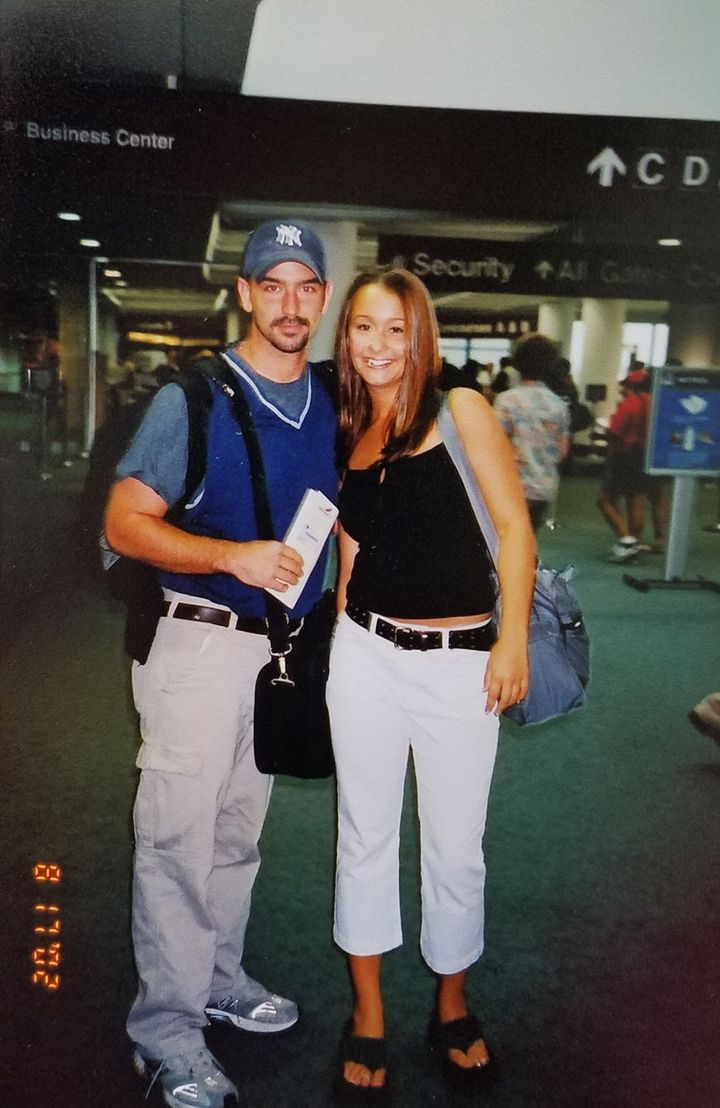 Megan Frey claims that Wes Feltner took her on a trip to Las Vegas in 2002.