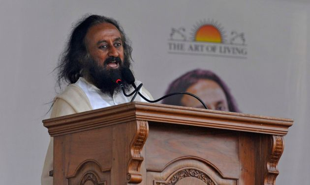 File image of Sri Sri Ravi