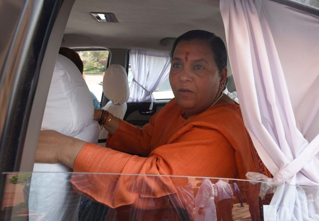 Minister for Drinking Water and Sanitation Uma Bharti in a file