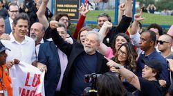 Lula est sorti de prison après l'autorisation de la justice