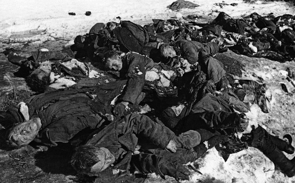 Από το μέτωπο του Λένινγκραντ....