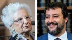 Matteo Salvini non conferma l'incontro con Liliana Segre: