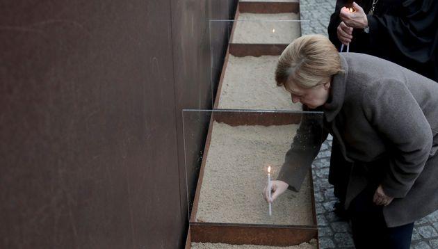 Το μήνυμα της Άνγκελα Μέρκελ για τα 30 χρόνια από την πτώση του Τείχους του