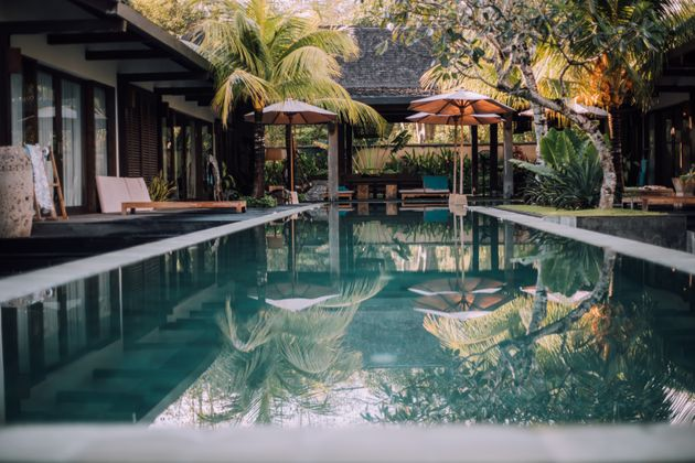 Luxurious villa with swimming pool in