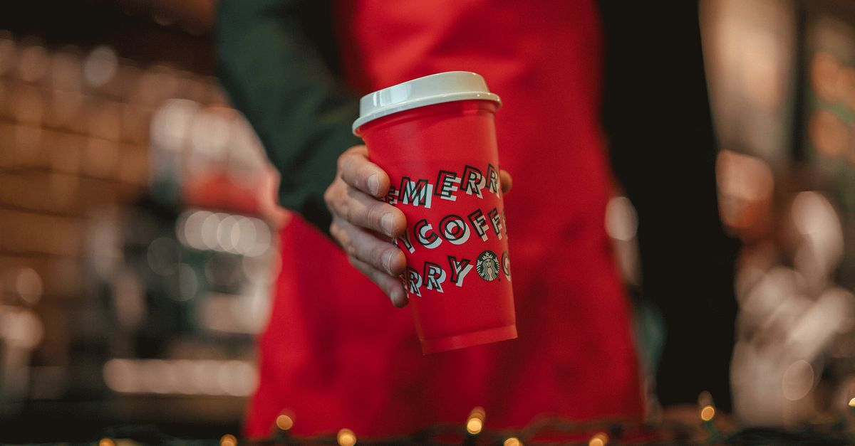This Year's Starbucks Holiday Cups Wish Customers A 'Merry Coffee'
