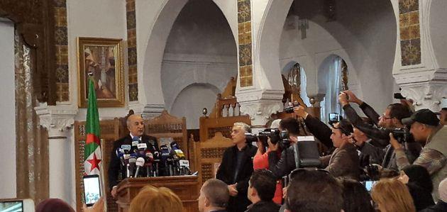 Conférence de presse de Abdlmadjid