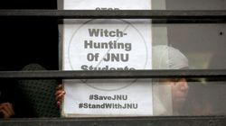 Ayodhya Verdict Reaction: Some JNU Students Hold Protest