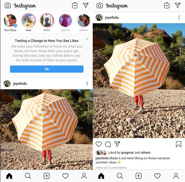 Instagramが「いいね」の数を隠すテストをアメリカでも開始。インフルエンサーへの影響は?