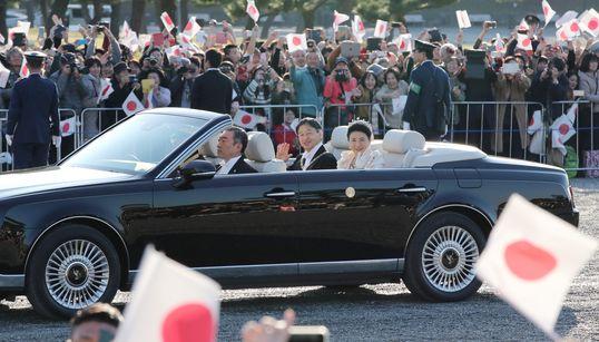 画像集で振り返る天皇陛下の即位パレード「祝賀御列の儀」