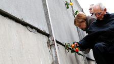 ドイツ30周年記念ベルリンの壁の秋