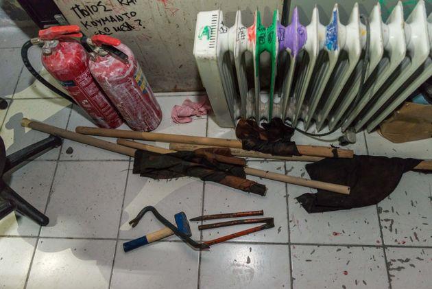 Πλήθος «πολεμοφοδίων» εντοπίστηκε στην ΑΣΟΕΕ ενόψει 17ης