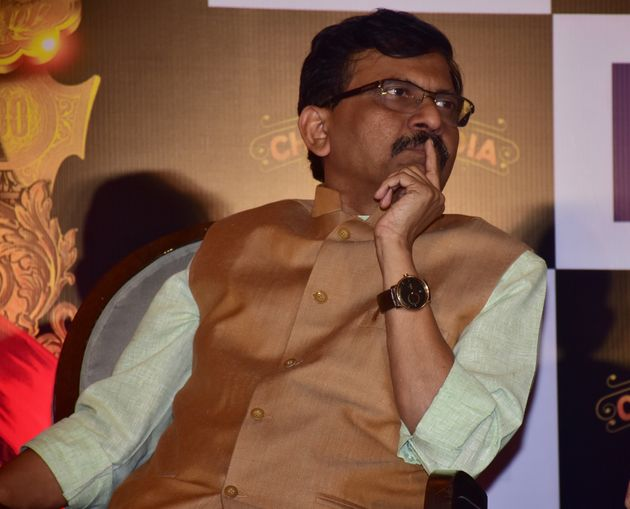Shiv Sena leader Sanjay Raut seen in a file