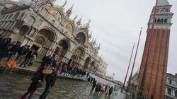 A Venezia nuovo picco di acqua alta, marea raggiunge 109