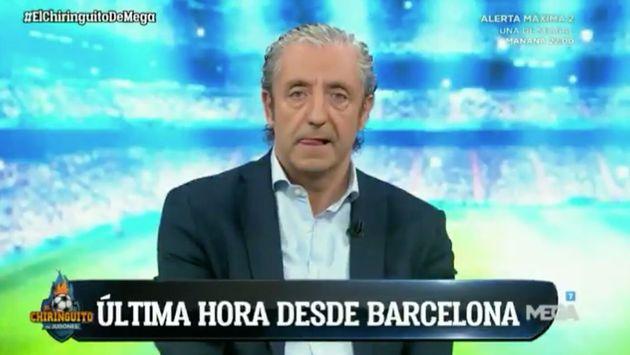 Josep Pedrerol publica una foto votando y todos se fijan en lo