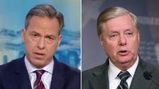 CNN Jake Tapper Spieße Lindsey Graham Über die Anklage der Heuchelei