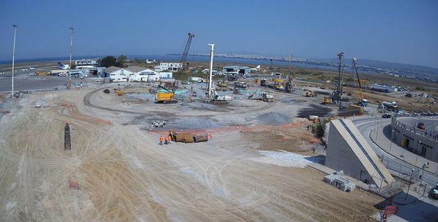 Λεπτό προς λεπτό η κατασκευή του νέου αεροδρομίου